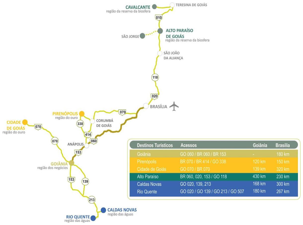 Mapa-turismo